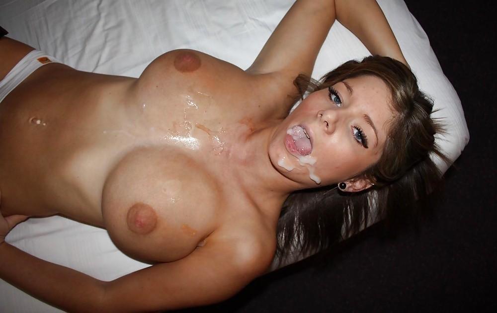 Девушки со спермой на лице крупным планом секс фото и порно фото