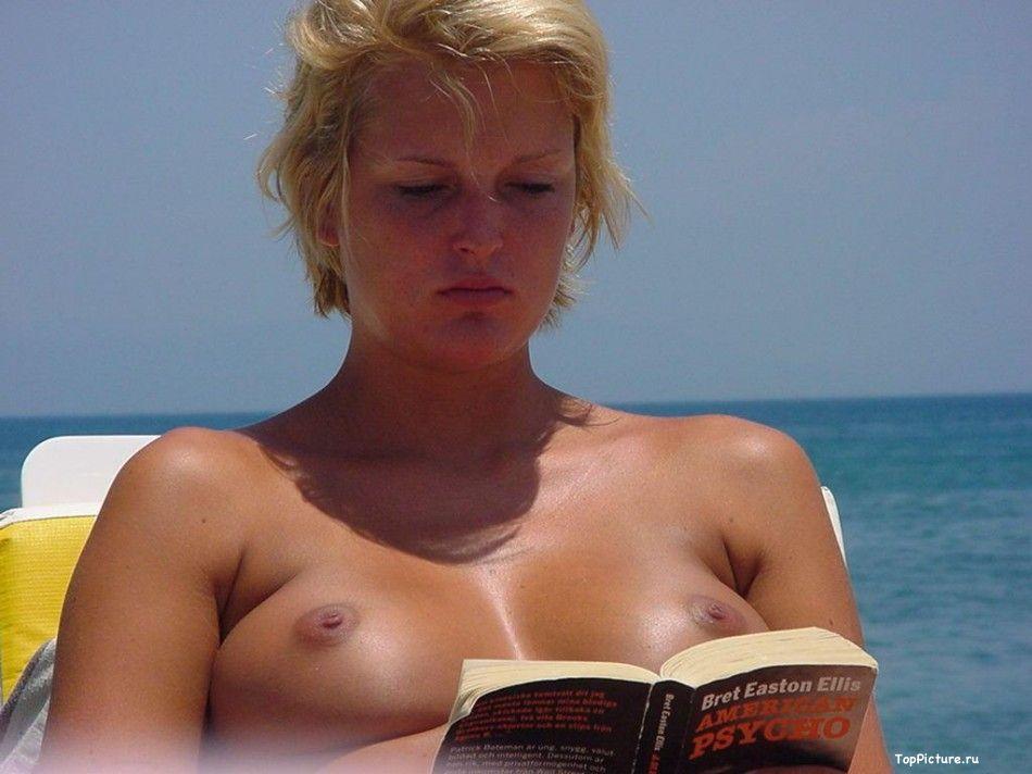 Подборка голых тёлок на пляже секс фото и порно фото